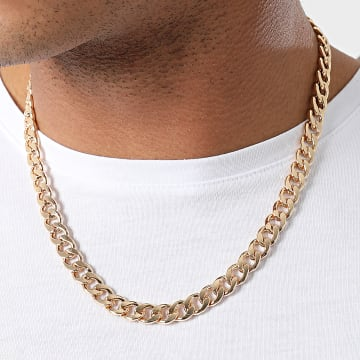 Chained And Able - Collier Cuban Link NB18019 Doré