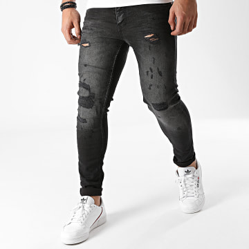 Classic Series - Jean Skinny DHZ-3230 Gris Anthracite