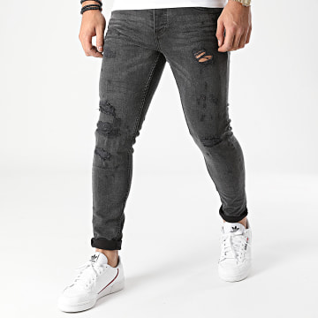 Classic Series - Jean Skinny DHZ-3230-1 Gris Anthracite