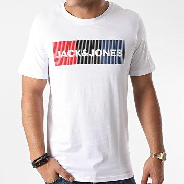 Jack And Jones - Tee Shirt Corp Logo Blanc