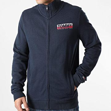 Tommy Jeans - Veste Zippée Graphic Zip 9515 Bleu Marine