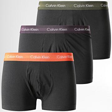 Calvin Klein - Lot De 3 Boxers Cotton Stretch U2664G Noir