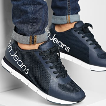 Calvin Klein - Baskets Jack Low Top Lace Up SE8526 Navy
