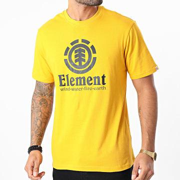 Element - Tee Shirt Vertical Jaune