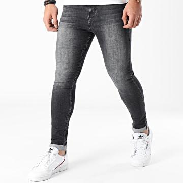 LBO - Jean Super Skinny Fit 1450 Denim Gris Foncé