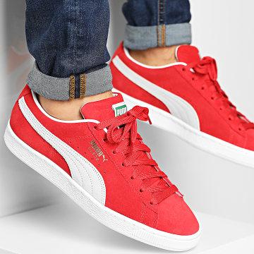 Puma - Baskets Suede Classic 374915 High Risk Red Puma White
