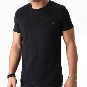 Superdry - Tee Shirt OL Vintage Embroidered M1010206A Noir