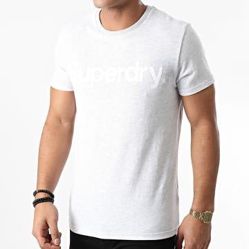 Superdry - Tee Shirt Classic NS M1010248A Gris Chiné