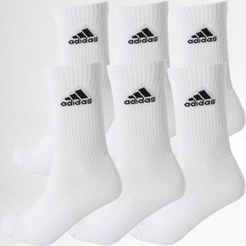 Adidas Performance - Lot De 6 Paires De Chaussettes Cush Crw DZ9353 Blanc