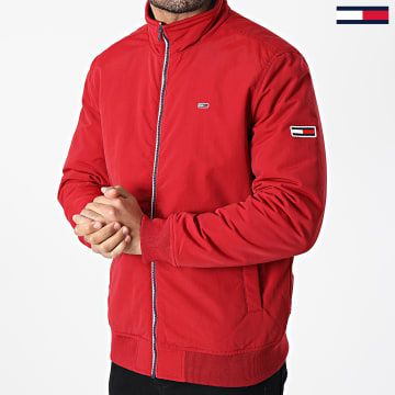 Tommy Jeans - Veste Zippée Essential Padded 8462 Rouge