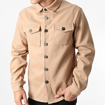 Uniplay - Sur Chemise Manches Longues UY531 Camel