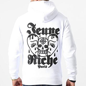 Jeune Riche - Sweat Capuche Dead Inside Blanc