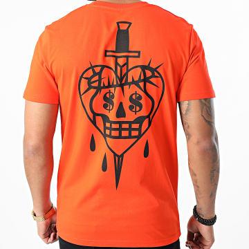 Jeune Riche - Tee Shirt No Love Orange