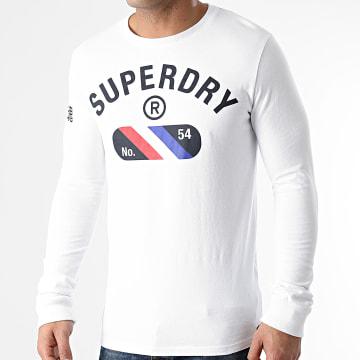 Superdry - Tee Shirt Manches Longues M6010205A Blanc