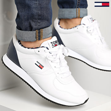 Tommy Jeans - Baskets Casual Tommy Jeans Sneaker 0372 Red White Blue