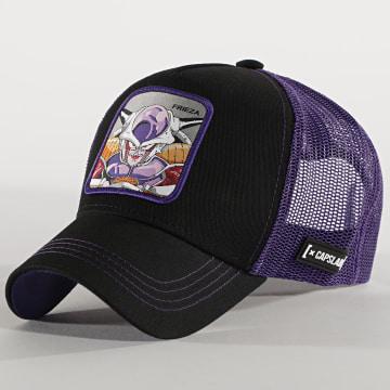Capslab - Casquette Trucker Frieza Noir Violet