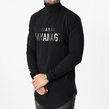 Gianni Kavanagh - Pull Oversize A Col Roulé GKM001034 Noir