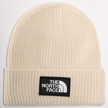 The North Face - Bonnet Logo Box Cuff Beige