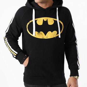 Batman - Sweat Capuche A Bandes MEBATMBSW056 Noir