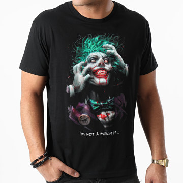 The Joker - Tee Shirt The Joker MEJOKERTS008 Noir