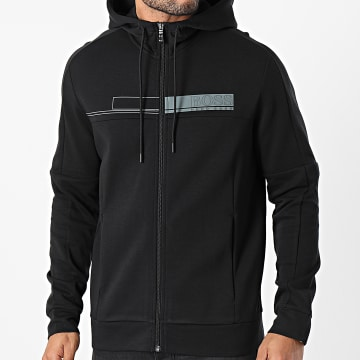 BOSS - Sweat Zippé Capuche Saggy 1 50441233 Noir