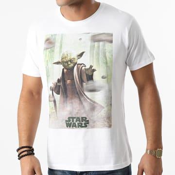 Star Wars - Tee Shirt MESWCLATS001 Blanc