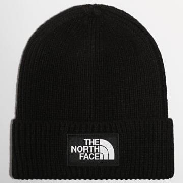The North Face - Bonnet Logo Box Cuff Noir