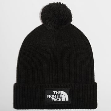 The North Face - Bonnet Logo Box Pom Noir
