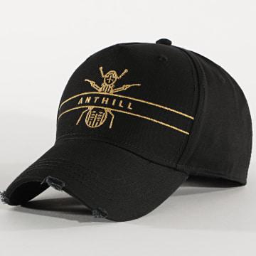 Anthill - Casquette Logo Noir Doré