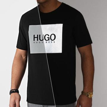 HUGO - Tee Shirt Dolive 211 50442929 Noir Réfléchissant