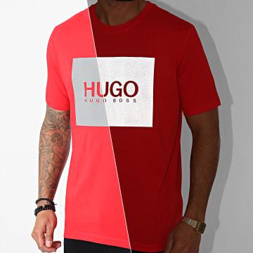 HUGO - Tee Shirt Dolive 211 50442929 Rouge Réfléchissant