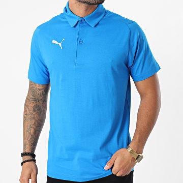 Puma - Polo Manches Courtes Liga Casuals 655310 Bleu