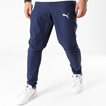Puma - Pantalon Jogging Liga Sideline Woven 655317 Bleu Marine