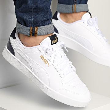 Puma - Baskets Puma Shuffle 309668 White Peacoat Gold