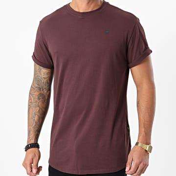 G-Star - Tee Shirt Oversize Lash D16396-B353 Bordeaux