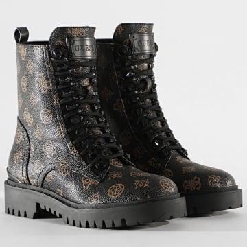 Guess - Boots Femme FL8OXAFAL10 Noir