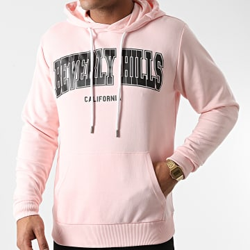 Luxury Lovers - Sweat Capuche Beverly Hills Rose