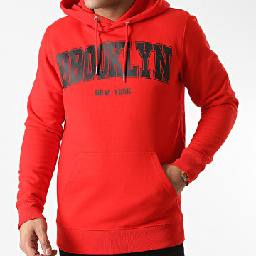 Luxury Lovers - Sweat Capuche Brooklyn Rouge