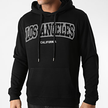 Luxury Lovers - Sweat Capuche Los Angeles Noir
