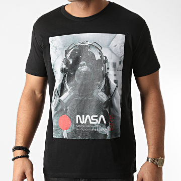 NASA - Tee Shirt Chimp In Space Noir