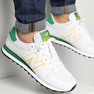 New Balance - Baskets Lifestyle 500 831421 White Green
