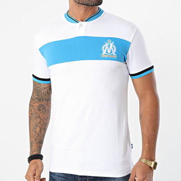 OM - Polo Manches Courtes M19008 Blanc
