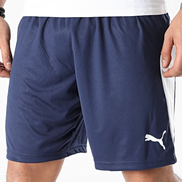 Puma - Short Jogging Liga 703431 Bleu Marine