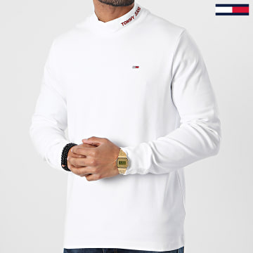 Tommy Jeans - Tee Shirt Manches Longues 9411 Blanc
