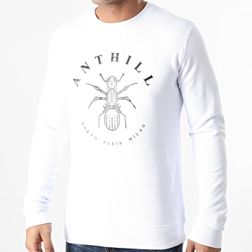 Anthill - Sweat Crewneck Logo Blanc