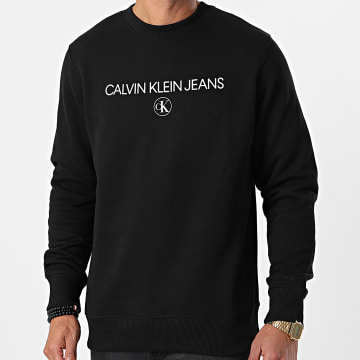 Calvin Klein - Sweat Crewneck Archive Logo 6683 Noir