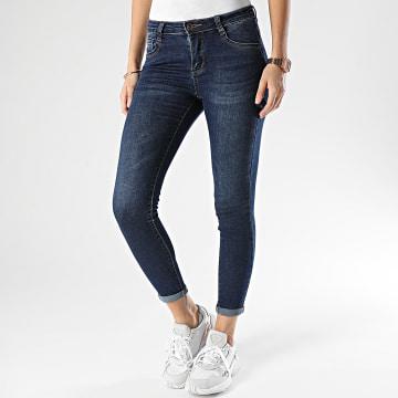 Girls Outfit - Jean Skinny Femme 1368 Bleu Denim