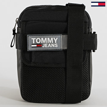 Tommy Jeans - Sacoche Réfléchissante Urban Reporter 4836 Noir