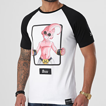 Dragon Ball Z - Tee Shirt Selfie Buu Blanc Noir