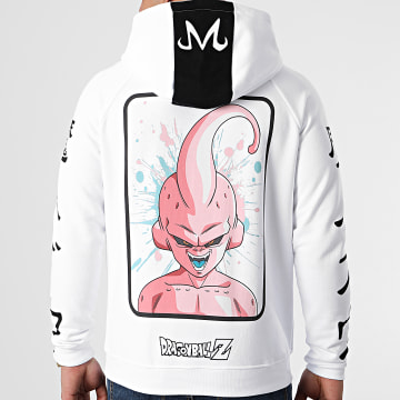 Dragon Ball Z - Sweat Capuche Selfie Buu Blanc